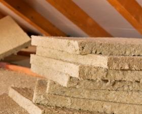 Voorbeeld natuurlijke isolatiematerialen