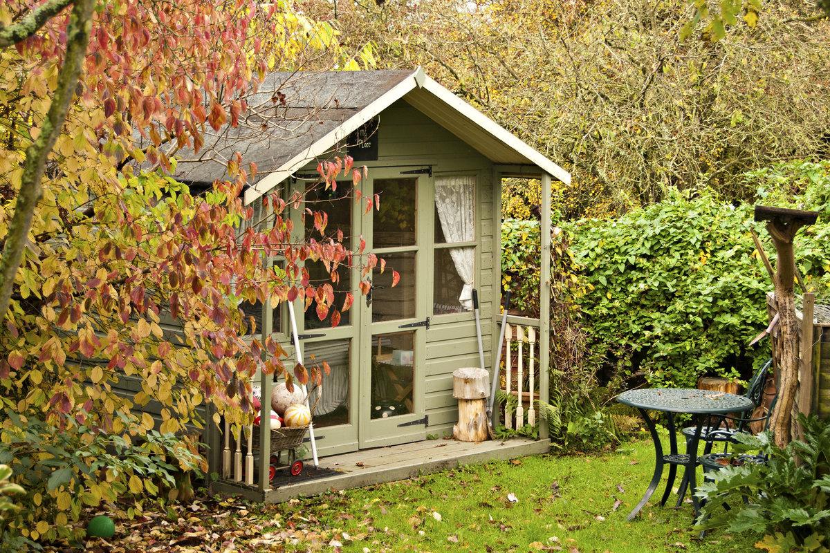Uitzonderlijk Tuinhuis in hout, metaal, kunststof of prefab? Tips en weetjes AB49