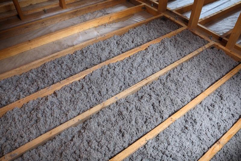 houtskelet vloer isoleren